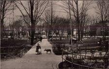 Holyoke MA Hampden Park c1910 Postcard