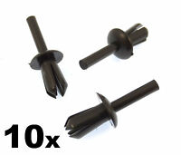 10x BMW 5mm Plastic Trim Clips / Rivets, Wheel Arch Liner / Lining & Mouldings