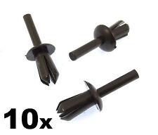 10 X BMW 5mm Clips Bordes Plástico/Remaches, Del Paso de Rueda / Revestimiento &