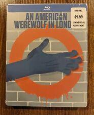 An American Werewolf in London Blu-ray Steelbook Limited Edition New Sealed Oop