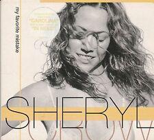 cd M2 cd single SHERYL CROW - MY FAVORITE MISTAKE  - IN NEED - CAROLINA digipack