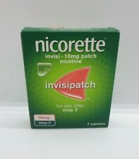 Nicorette Invisipatch Step 3 10mg 7 Patches - BRAND NEW
