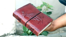 Handmade Leather Journal Kangaroo Diary Bound Sketchbook Notebook Gift Book 6x4