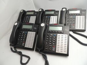 ESI 48 Key H DFP 30-Button Phone Charcoal Digital Display Speakerphone Lot of 5