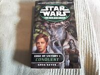 Star Wars New Jedi Order Edge Of Victory 1 Conquest G. Keyes P/Back 2001