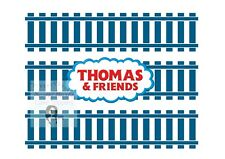 THOMAS THE TANK ENGINE TRAIN TRACKS CAKE TOPPER EDIBLE PRINTED ICING DECORATION