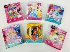 Factory Sealed Bundle of Six 6 Disney Jigsaw Puzzles Ages 5+