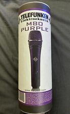 Telefunken M80 Dynamic Microphone (Purple)