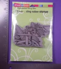 "Stampendous Cling Rubber Stamp - ""Adirondack Pair"" (Summer, Beach Chair)"