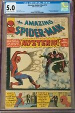 The Amazing Spider-Man 13 CGC 5.0 First Appearance Mysterio