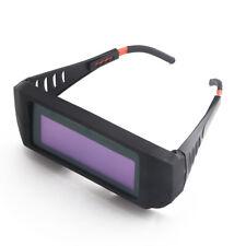 Solar Auto Darkening Welding Goggles Shield Glasses Anti Glare Shock Uv Lens C