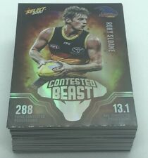 2020 AFL Footy Stars - Contested Beast - Complete Set of 54