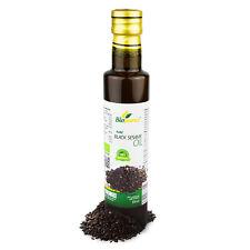 Certificado Orgánico Prensado en frío Aceite de sésamo negro 250ml biopurus