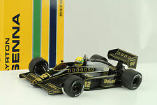 1/18 MINICHAMPS 540861812 Lotus RENAULT 98t 1986 Senna Collection