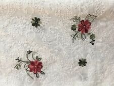 """broderie anglaise On 100 % Cotton Lawn """"Indian"""" Dress Fabric ,Sewing -per Mtr"""