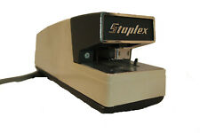 STAPLEX High Speed Electric Automatic Stapler Model MS ~ Made in Japan