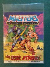He-MAN MOTU mini comic The Terror Claws Strike 1985
