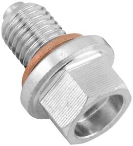 BikeMaster Steel Magnetic Oil Drain Plug 10mm x 1.5 FHM050-S10-1.5