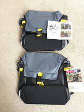 Lot of 2: Brand new! Bike / Bicycle panniers messenger bags by EMBARK
