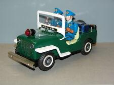 T.N Nomura - Polizei P.D Patrol Jeep - Deutsche Version ! 50/60er Jahre (E374