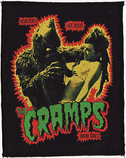THE CRAMPS BLACK PATCH LAGOON HORROR MONSTER POISON IVY PSYCHOBILLY GARAGE A6+