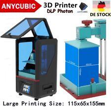 DE STOCK Anycubic SLA Photon 3D Drucker 405nm UV Harz LED Licht-Heilung TFT FEP
