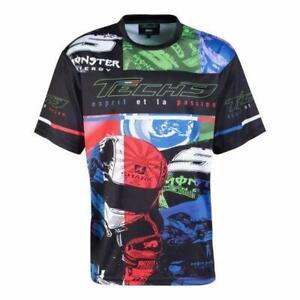 Tech 3 Yamaha MotoGP Racing Official Team T Shirt Monster Energy All Over Print