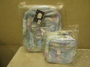 Pottery Barn teen Gear Up Watercolor Dream Backpack & Lunchbox