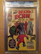 CGC 9.0 Not Brand Echh #1 *OW-White*1st App. Forbush Man*1st Marvel Parody*1967