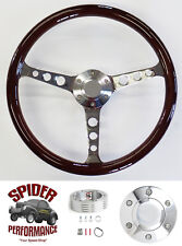 "1960-1969 Chevy pickup steering wheel 15"" CLASSIC MAHOGANY"
