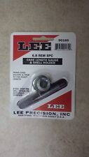 LEE Precision Inc, 6.8 Rem SPC Case Length Gauge & Shell holder