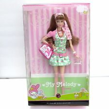 My Melody Barbie Doll By Sanrio Pink Label 2008 NRFB