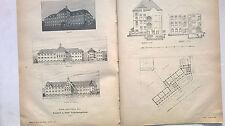 1905 44 Entwurf Volksschule St Laurentius rier