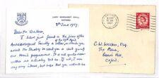 LL141 1957 cubierta de Oxford & Postal {samwells-cubre}