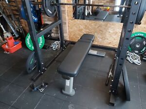 Commercial Flat Weight Bench Life Fitness Gym Equipment
