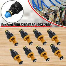 Set of 8 Fuel Injectors For Ford Mercury Lincoln 4.6L 5.0L 5.4L 5.8L 0280150943