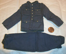 Dragon German jacket & trousers dyed blue 1/6th scale toy