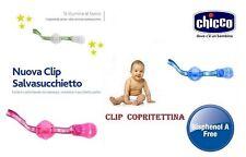 CHICCO CLIP CLAP CLIP COPRITETTINA x SUCCHIETTO COLLEZIONE NUOVA