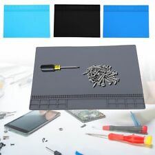 350x250x4mm Repair Mat Heat Resistant Magnetic Silicone Solder Station Tools Pad