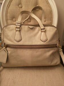 Marc Jacobs Beige Leather Bag