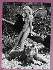 (X278) 4x Pressefotos + 2x Postkarten Tanya Roberts - SHEENA - 1984