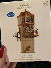 Hallmark Disney Ornament - Clock Cleaners Mickey and Friends Christmas - 2011