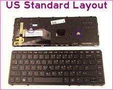 New Laptop US Keyboard for HP Elitebook 840 G1 850 G1 W/Frame Backlit Pointer