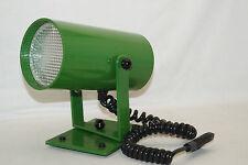 RADEMACHER WO 70iger Jahre Stroboskop Lampe Leuchte grün vintage