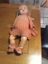 Antique Plaster doll. vintage grande 2 FT (environ 0.61 m) de hauteur. très ancien
