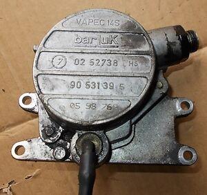 SAAB 9-3 Vakuumpumpe bar Luk vacuum pump 0252738 90531395