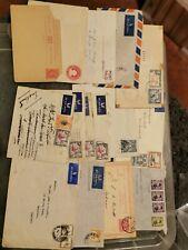 Pre Elizabeth commonwealth envelopes / on piece
