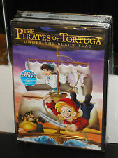 The Pirates of Tortuga - Under The Black Flag (DVD) Childrens,  Animated, NEW!