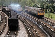 British Rail western region DMU at Oxford 4th June 1983 Rail Photo