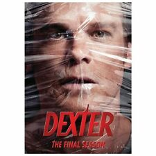 DVD Dexter The Final Season 2013 4-Disc Set NEW SEALED